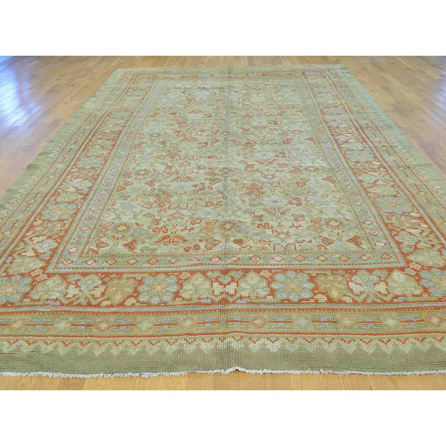 Antique-Hand-Knotted-Rug-133125
