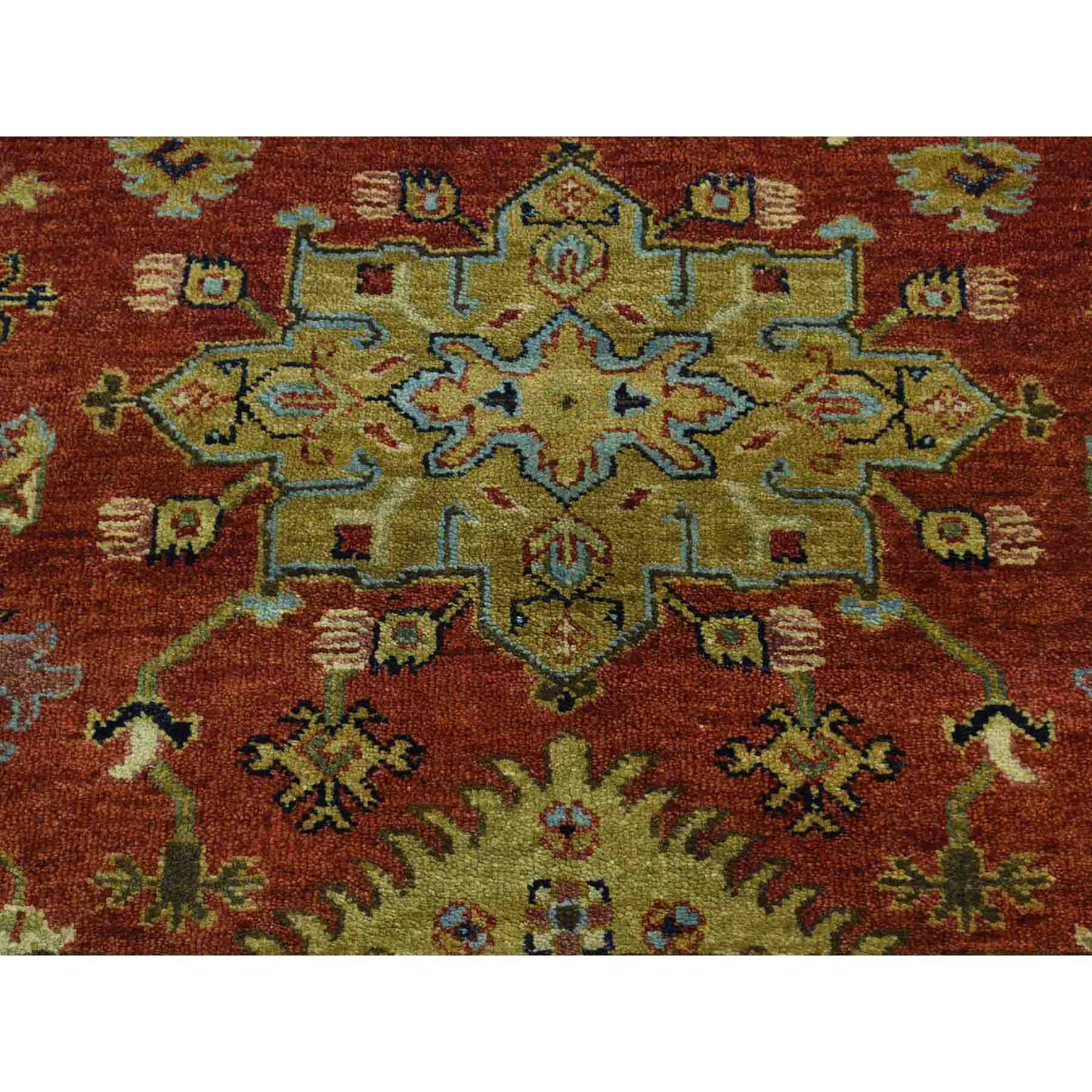 Heriz-Hand-Knotted-Rug-167635
