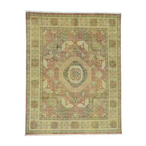 Hand-Knotted Pure Wool Mamluk Design Oriental
