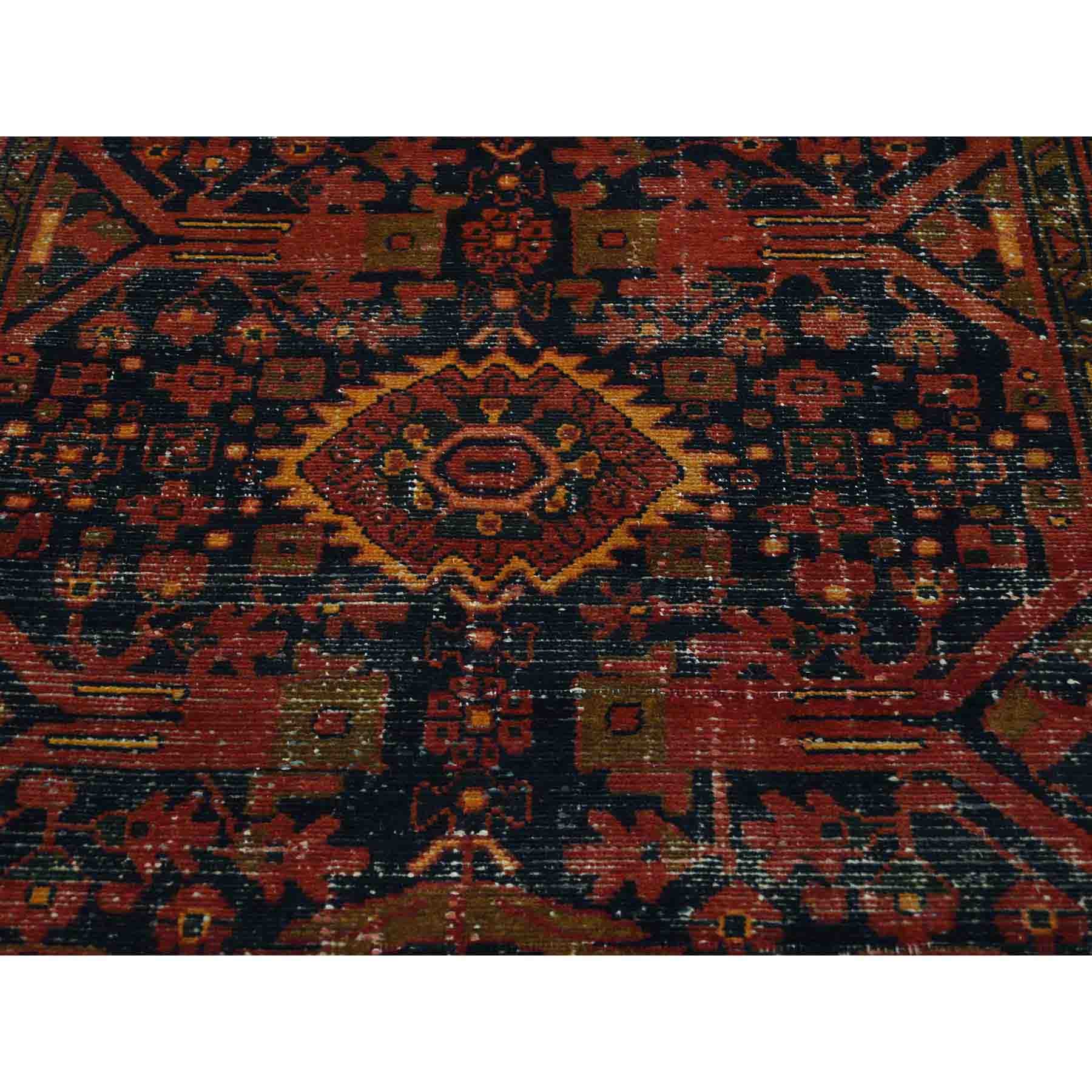 Overdyed-Vintage-Hand-Knotted-Rug-191415