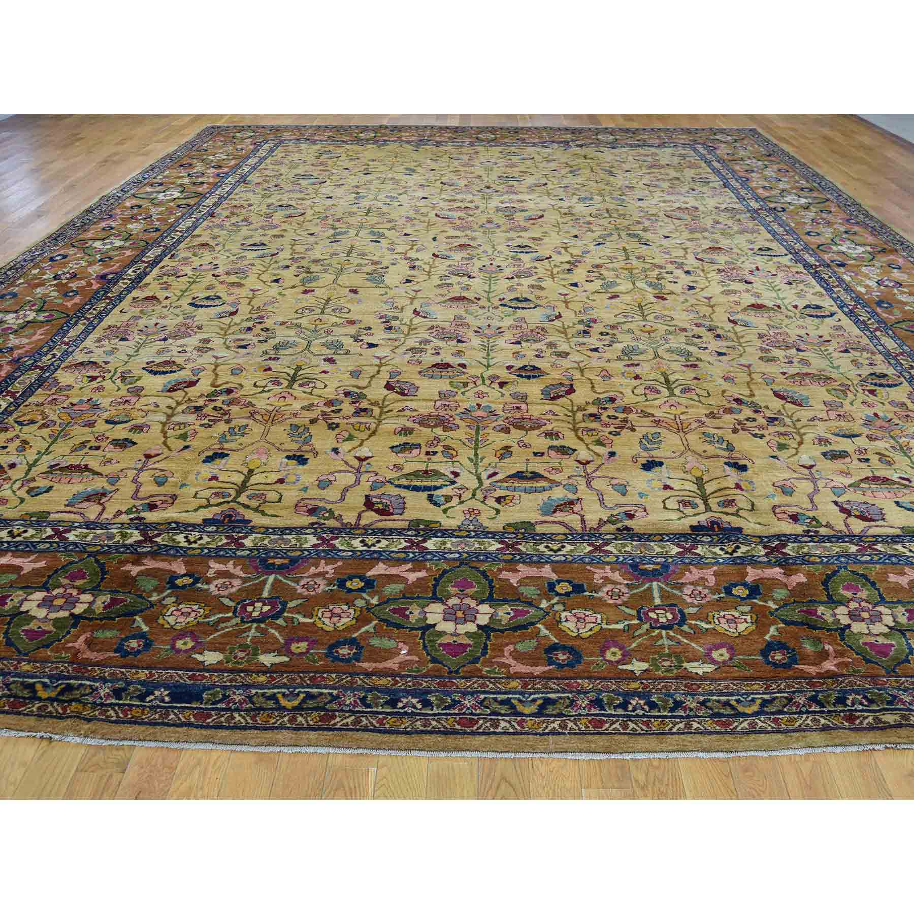 Antique-Hand-Knotted-Rug-200295