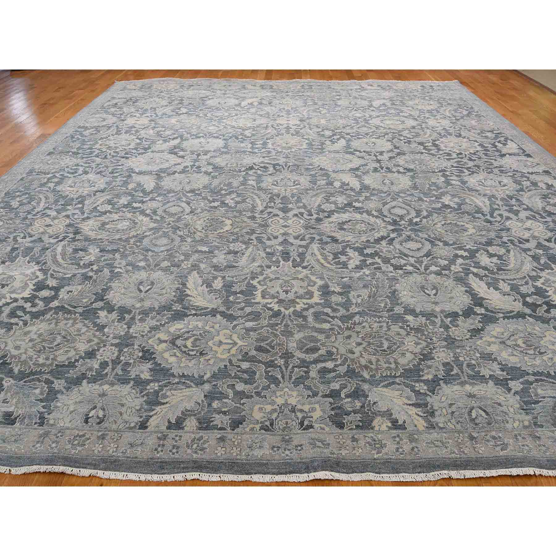 Oushak-And-Peshawar-Hand-Knotted-Rug-206545