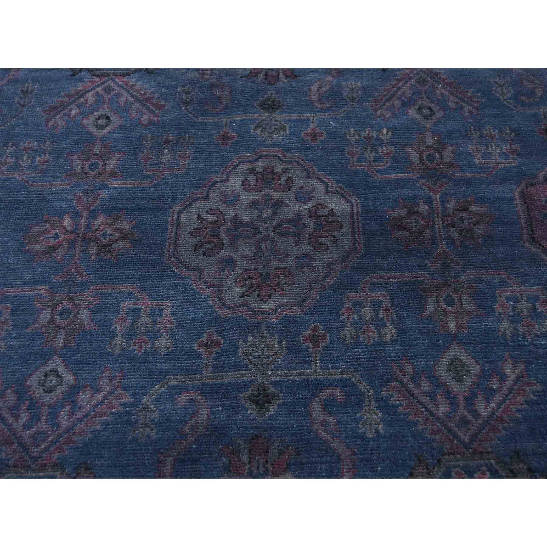 Overdyed-Vintage-Hand-Knotted-Rug-213700
