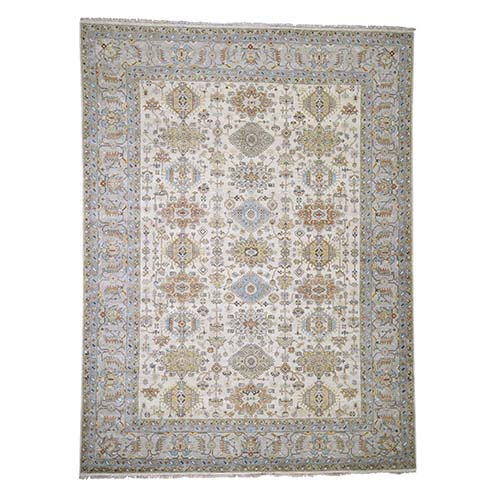 Karajeh Design Pure Wool Hand-Knotted Oriental Rug