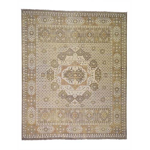Historical Egyptian Mamluk Hand Knotted Pure Wool Oriental