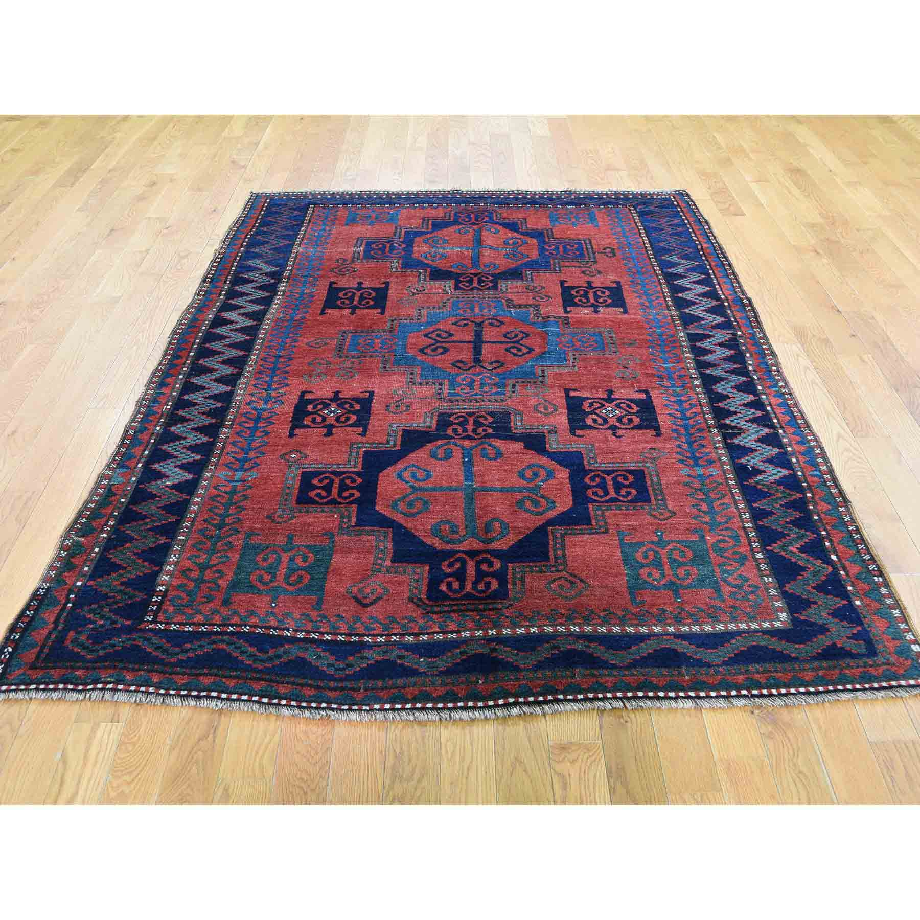 Antique-Hand-Knotted-Rug-230155