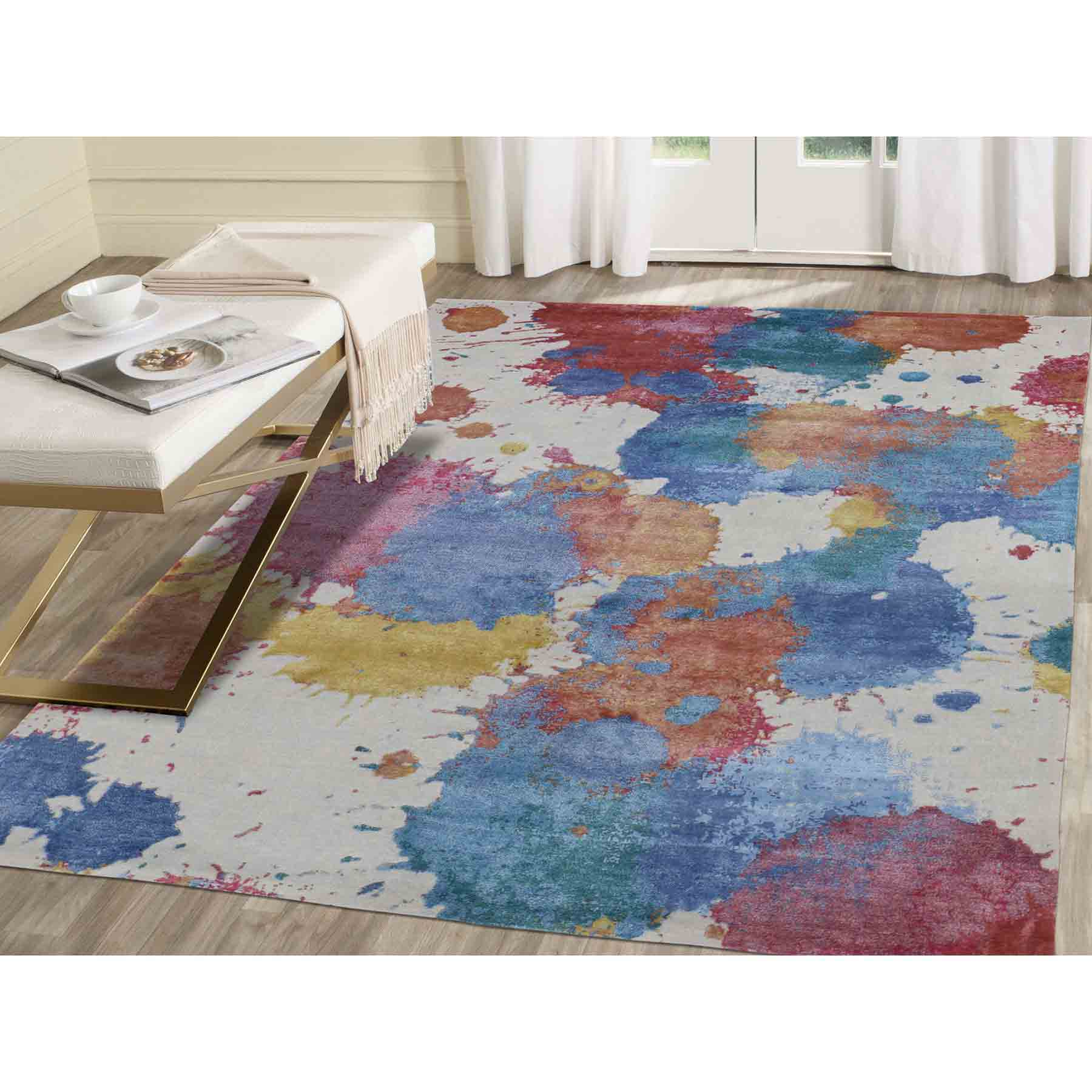 Modern-and-Contemporary-Hand-Knotted-Rug-232255