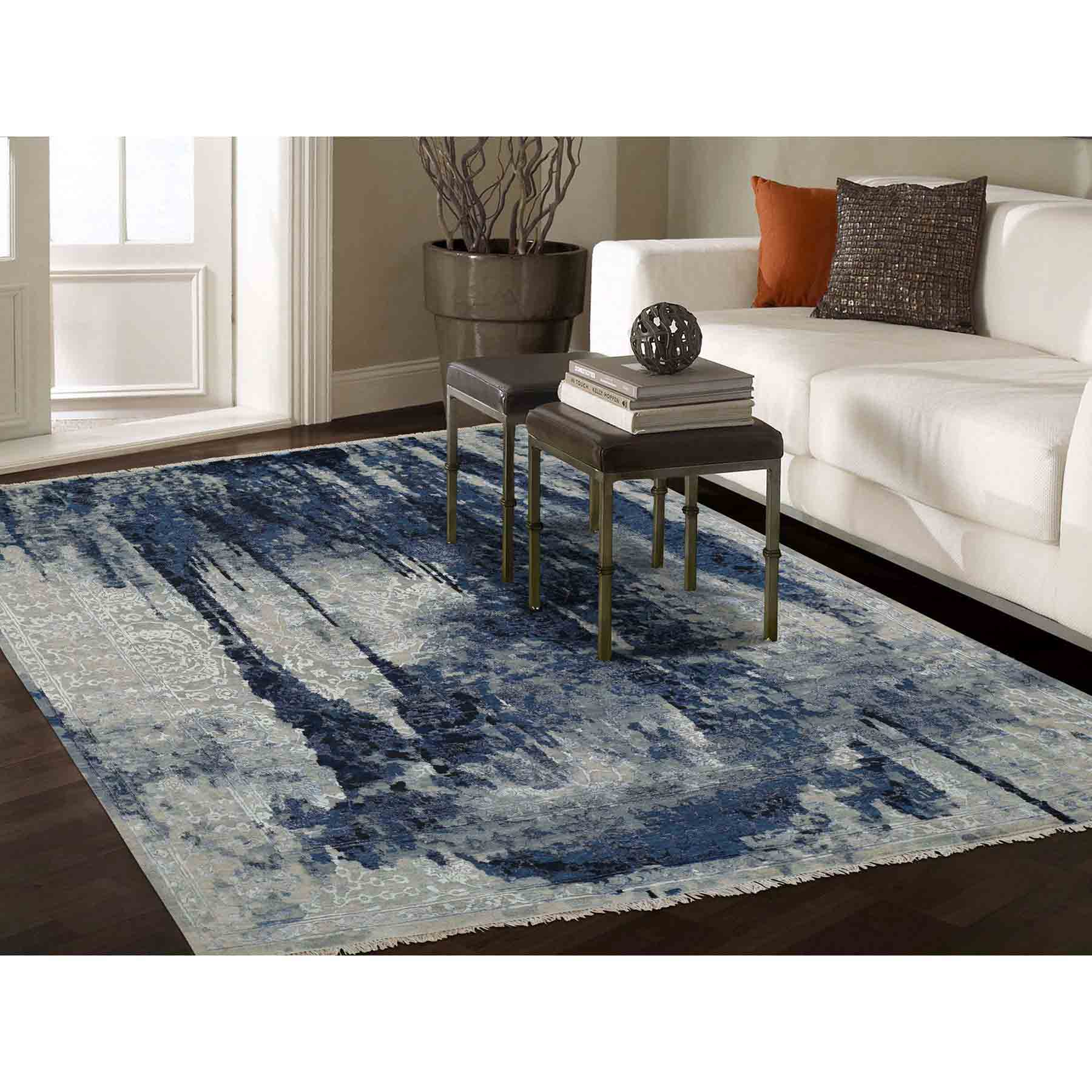 Transitional-Hand-Knotted-Rug-233200