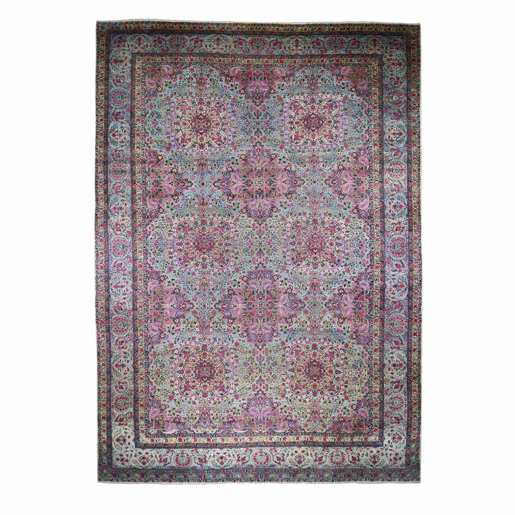 Antique-Hand-Knotted-Rug-235100
