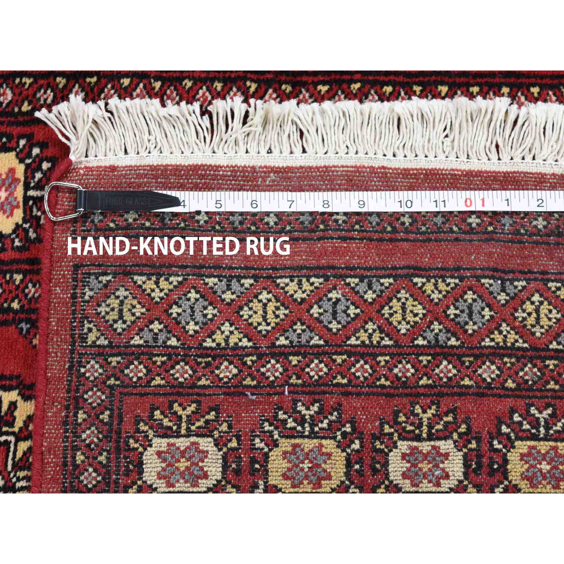 Tribal-Geometric-Hand-Knotted-Rug-235910