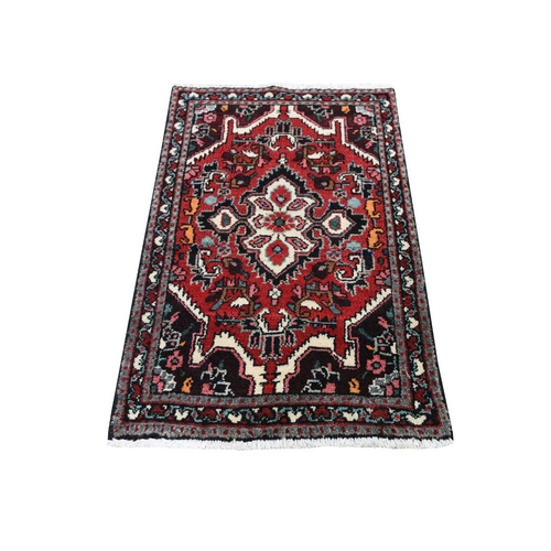 Red New Persian Lilahan Pure Wool Hand Knotted Oriental