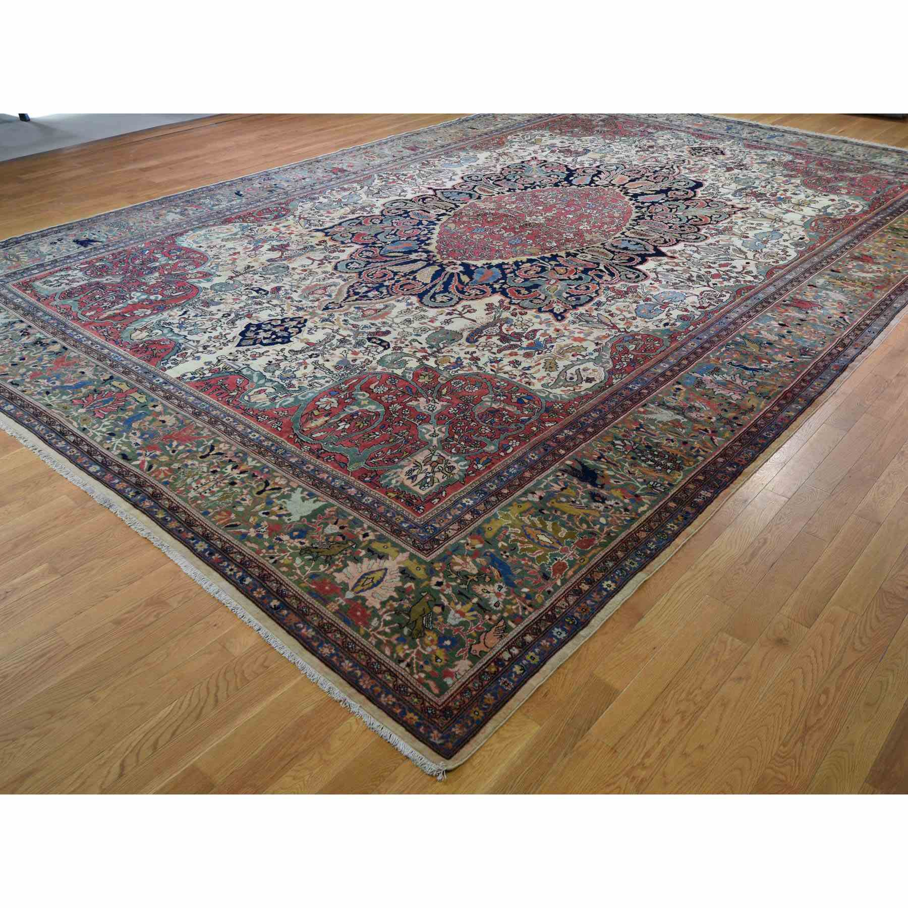 Antique-Hand-Knotted-Rug-243515