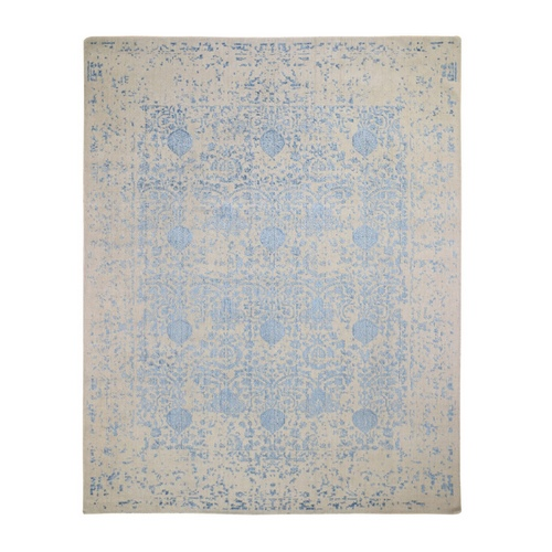 Hand Loomed Broken Pomegranate Design Oriental Rug