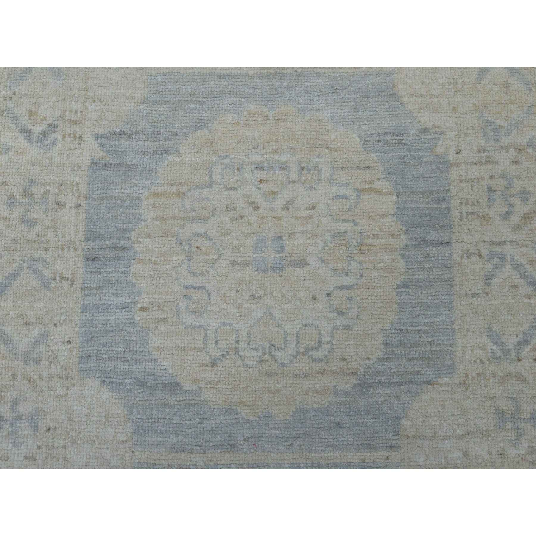 Oushak-And-Peshawar-Hand-Knotted-Rug-255470