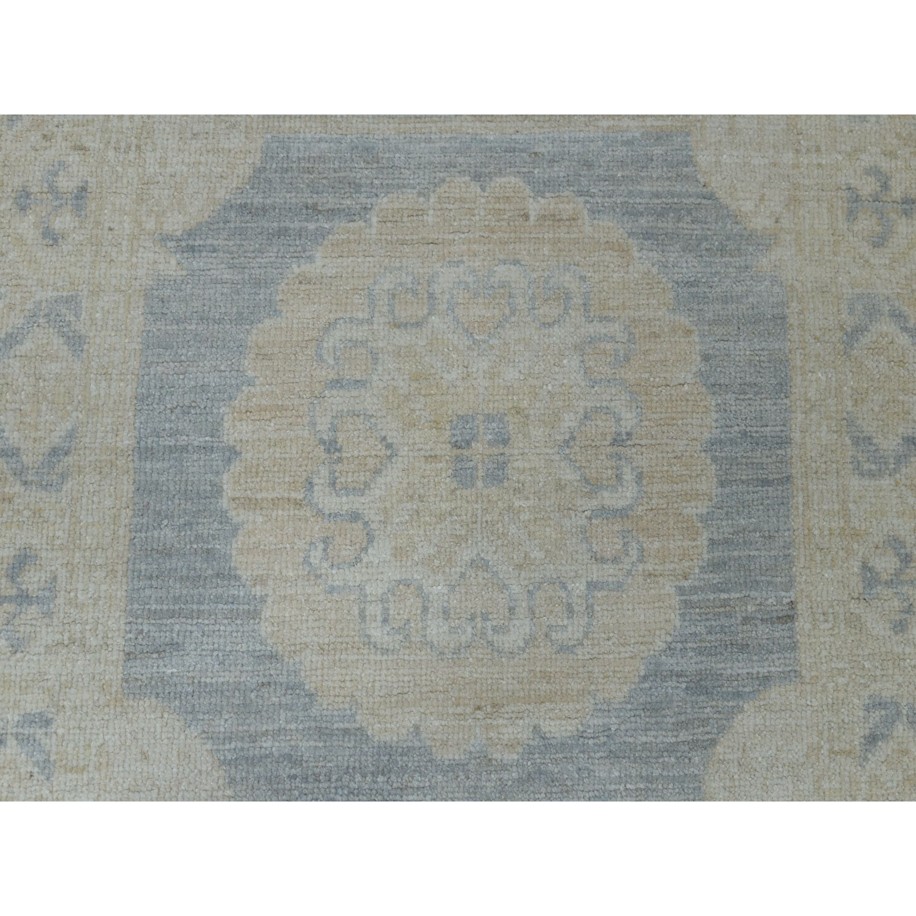 Oushak-And-Peshawar-Hand-Knotted-Rug-255480