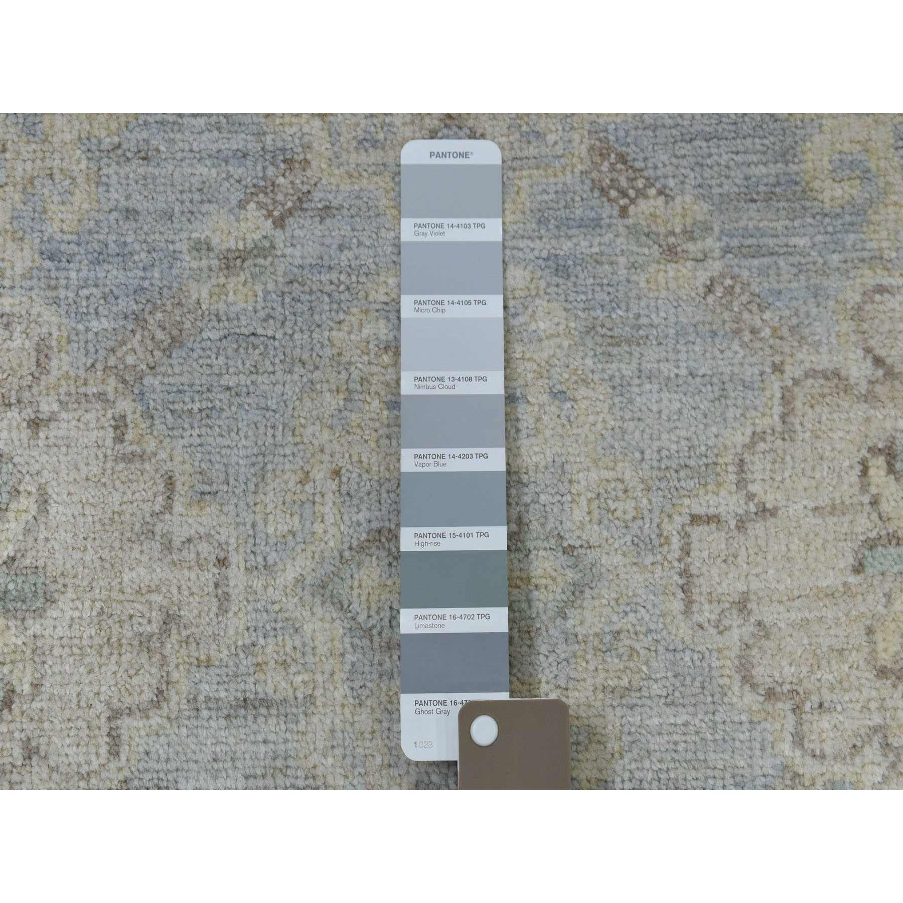 Oushak-And-Peshawar-Hand-Knotted-Rug-255625