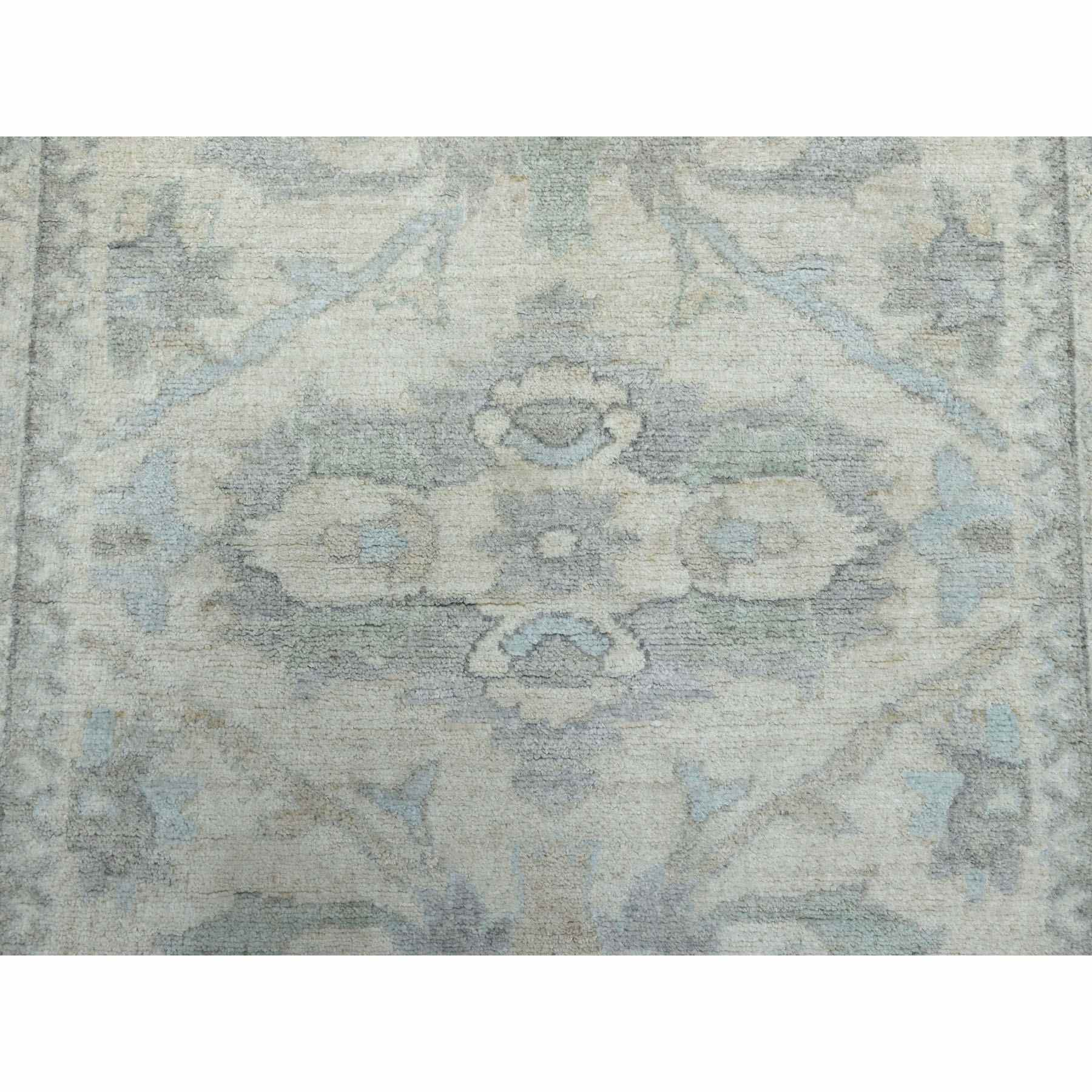 Oushak-And-Peshawar-Hand-Knotted-Rug-257630