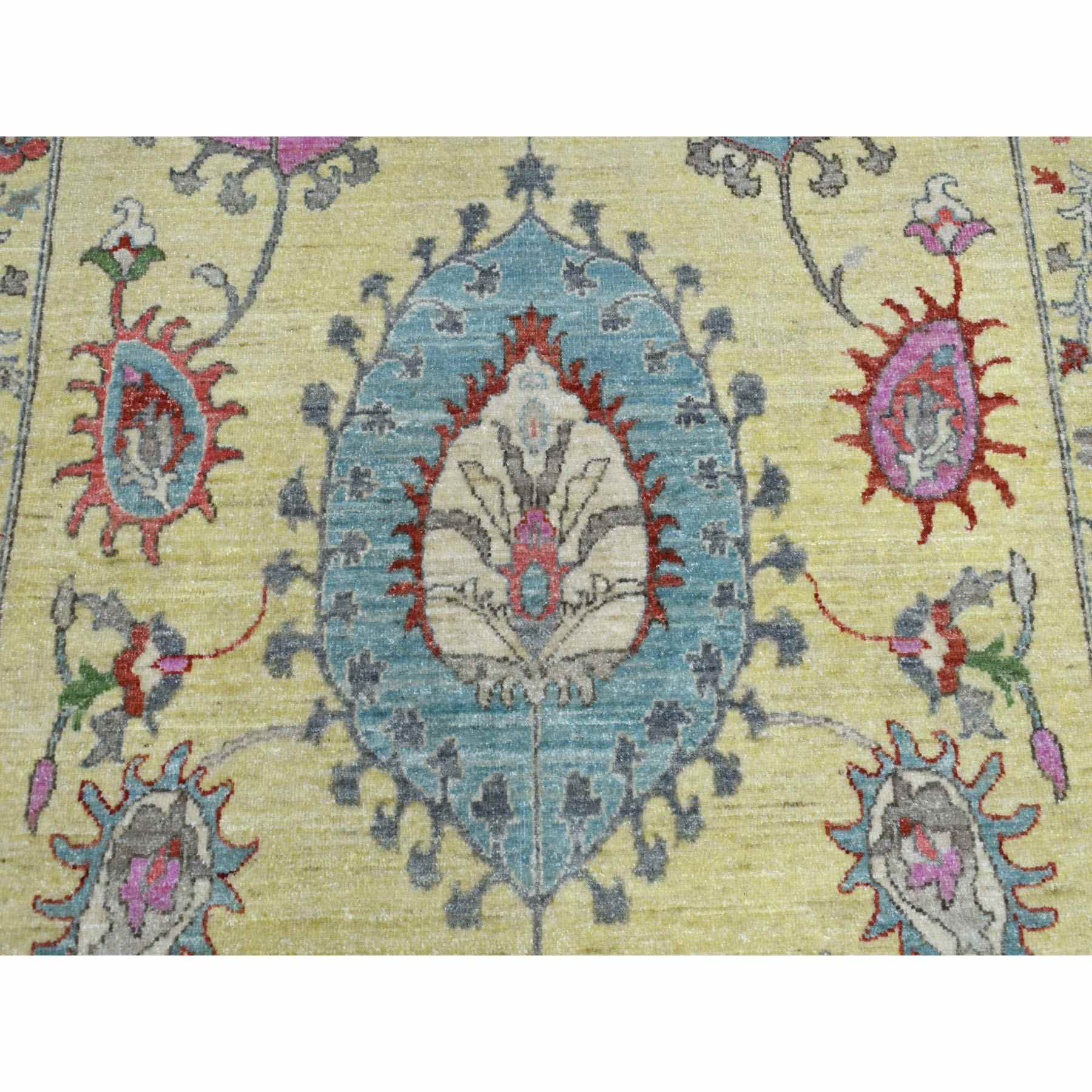 Oushak-And-Peshawar-Hand-Knotted-Rug-269665