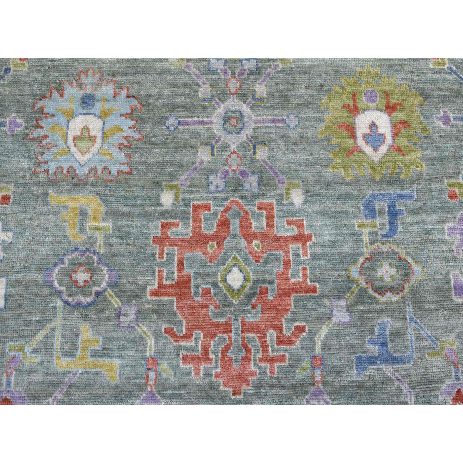 Oushak-And-Peshawar-Hand-Knotted-Rug-271630
