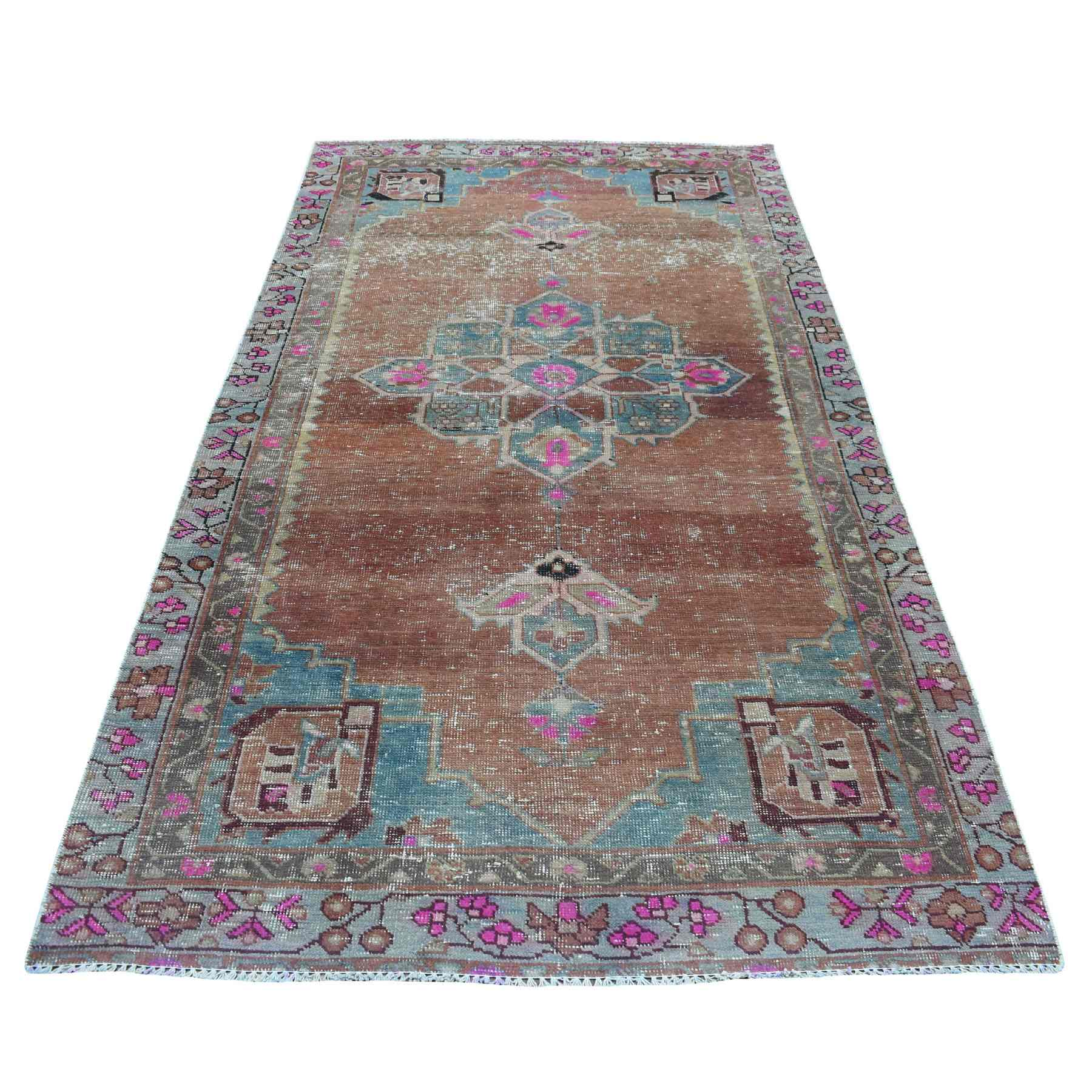 Overdyed-Vintage-Hand-Knotted-Rug-270250