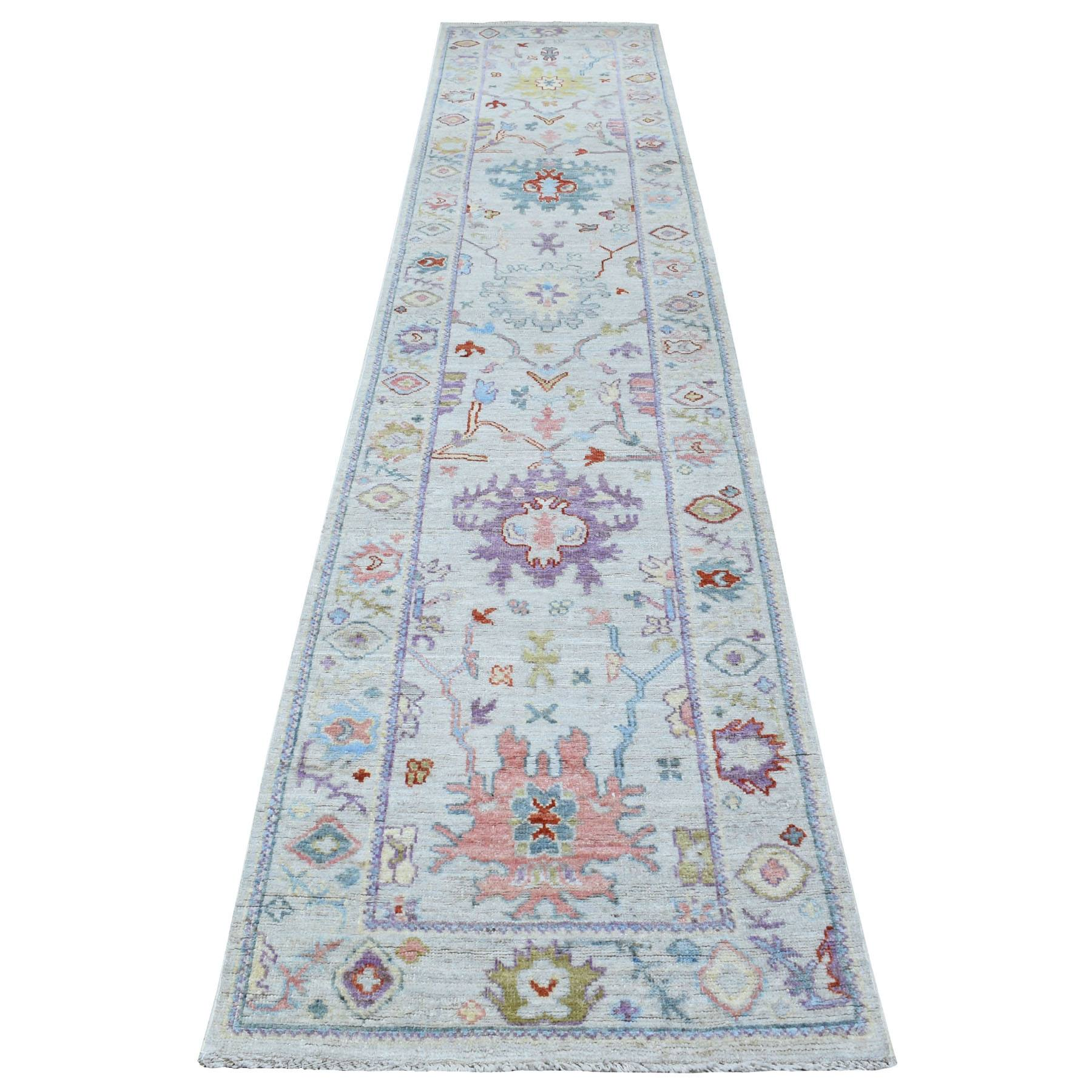 Oushak-And-Peshawar-Hand-Knotted-Rug-278310
