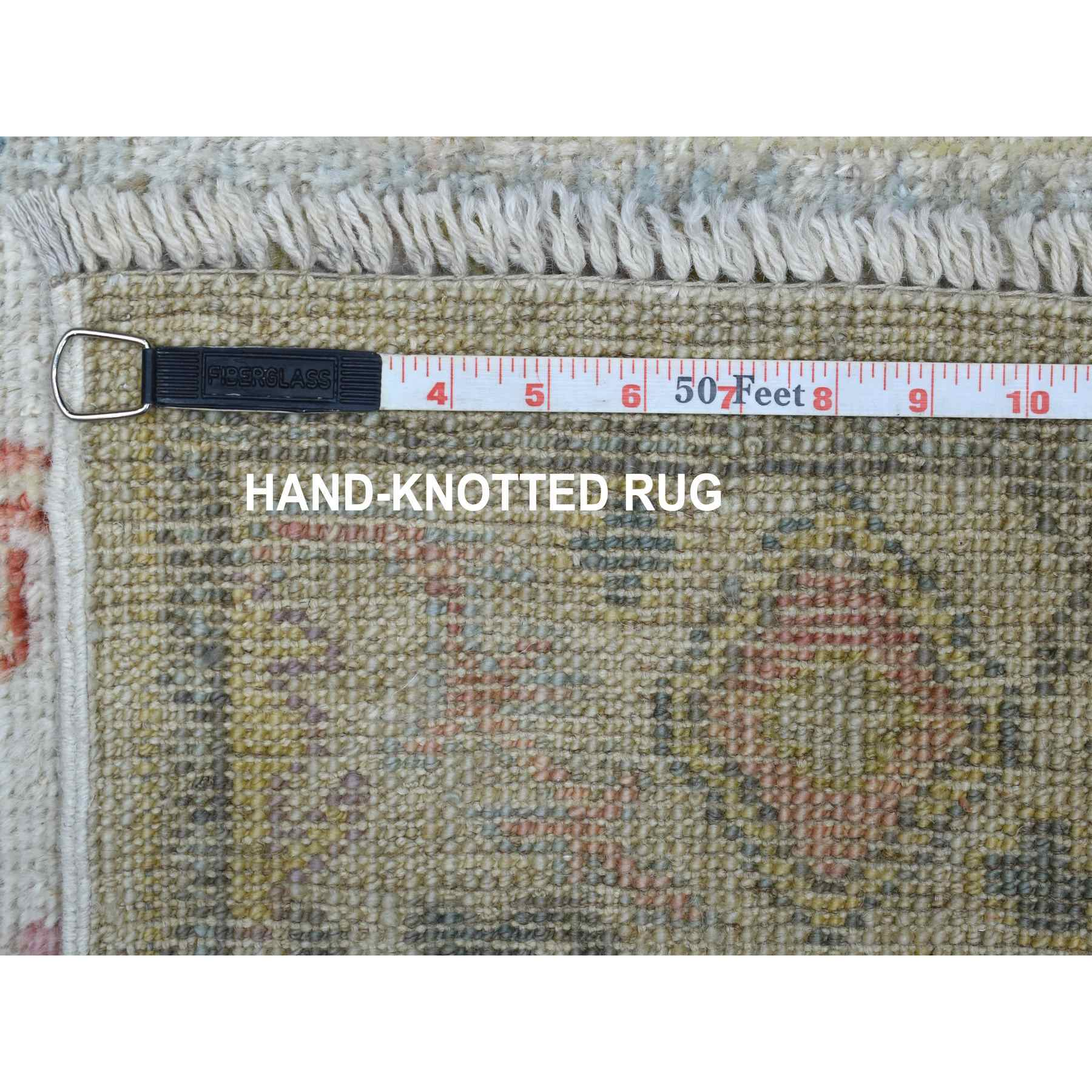 Oushak-And-Peshawar-Hand-Knotted-Rug-280240