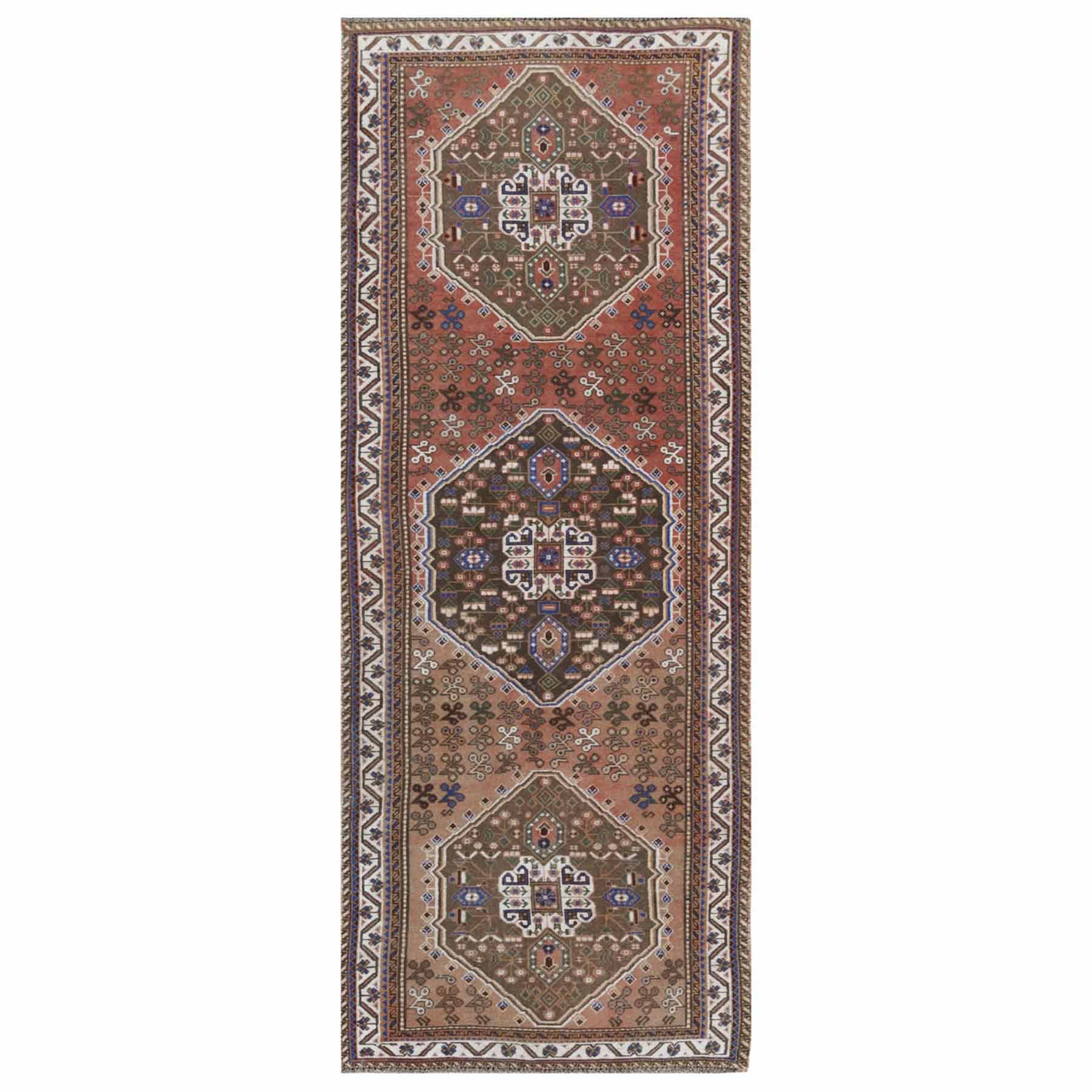 Overdyed-Vintage-Hand-Knotted-Rug-289855