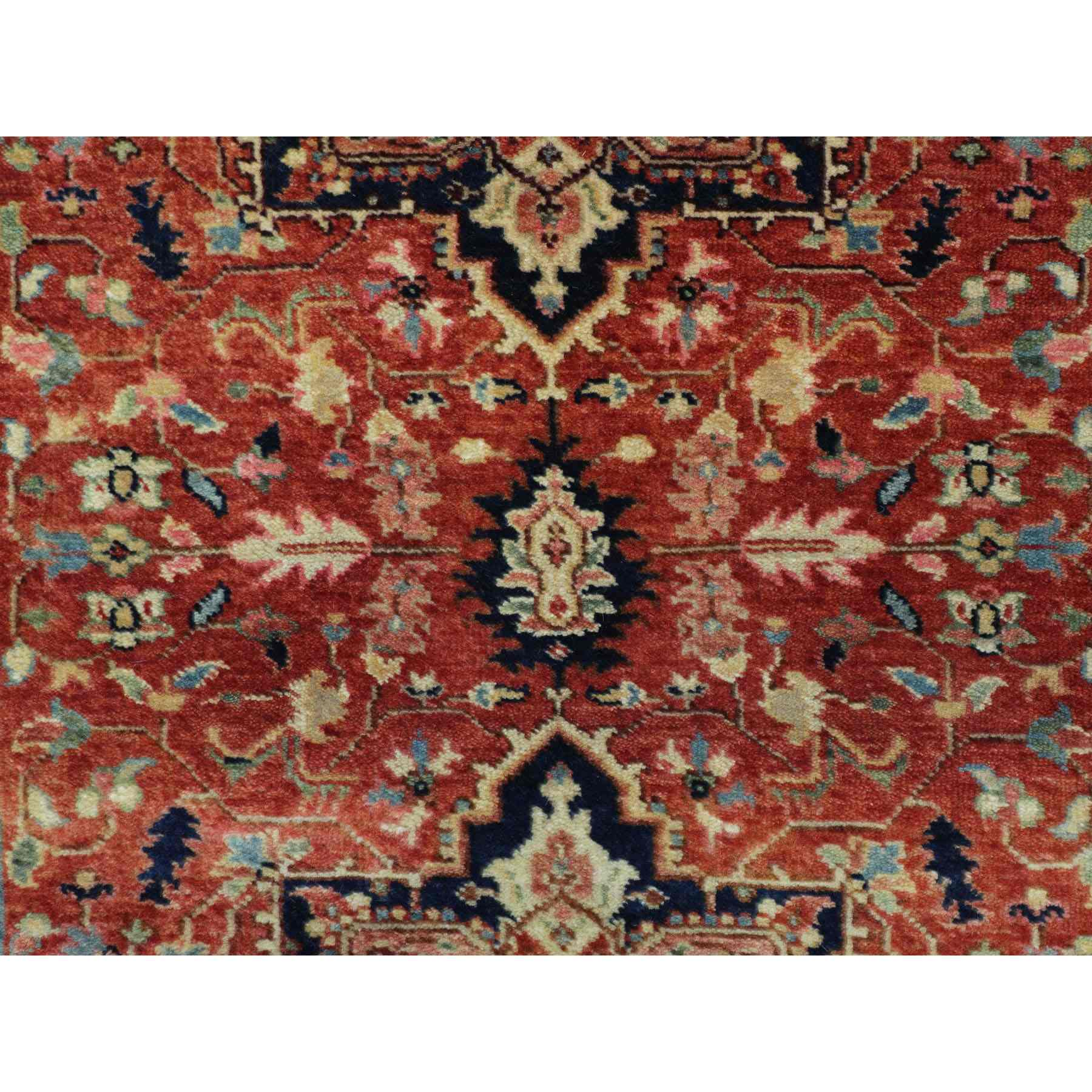Heriz-Hand-Knotted-Rug-290435