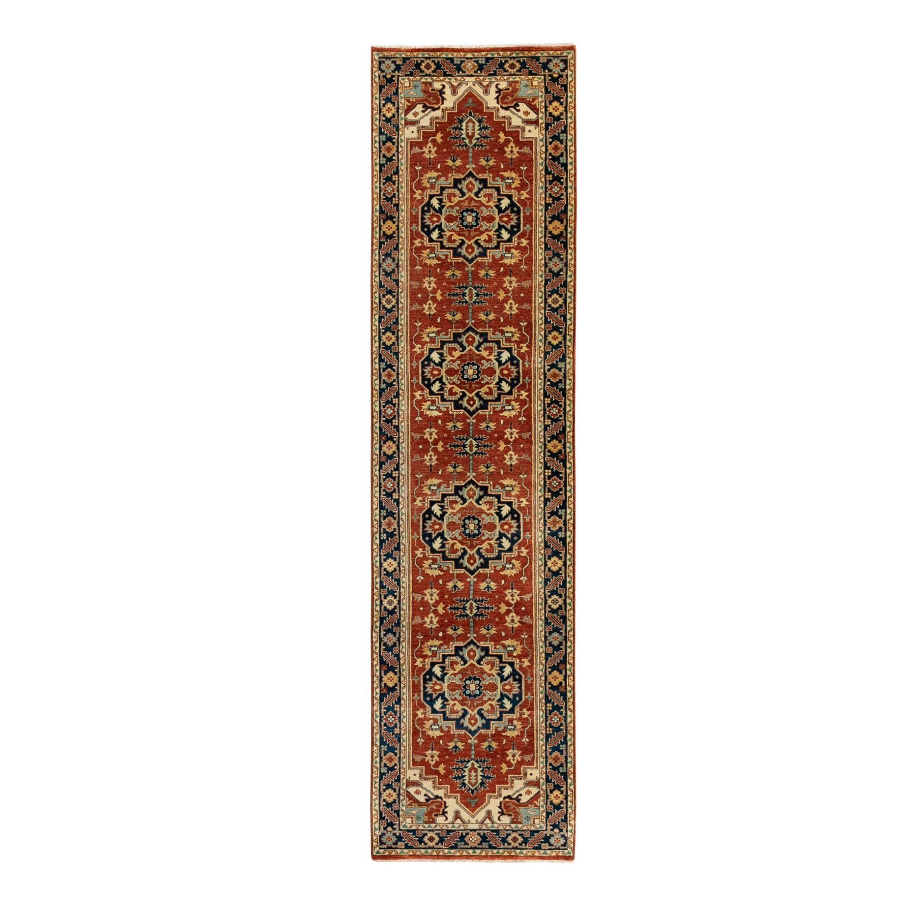 Heriz-Hand-Knotted-Rug-310040